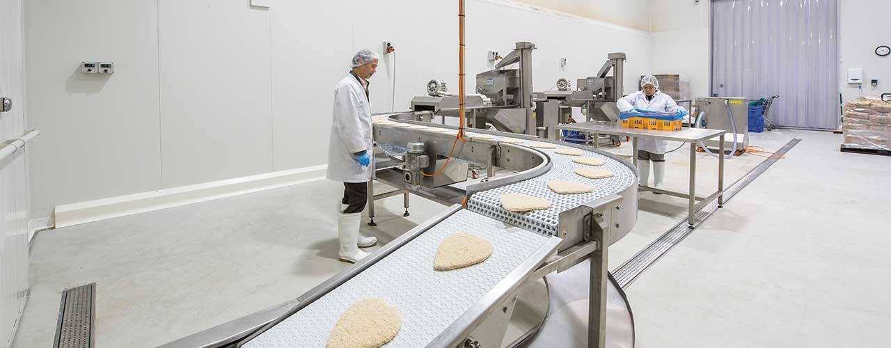 Universal Poultry Schnitzel Coating Process